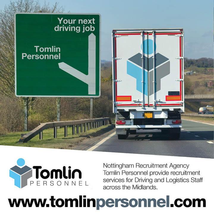 Tomlin Instagram Midlands Driving Jobs