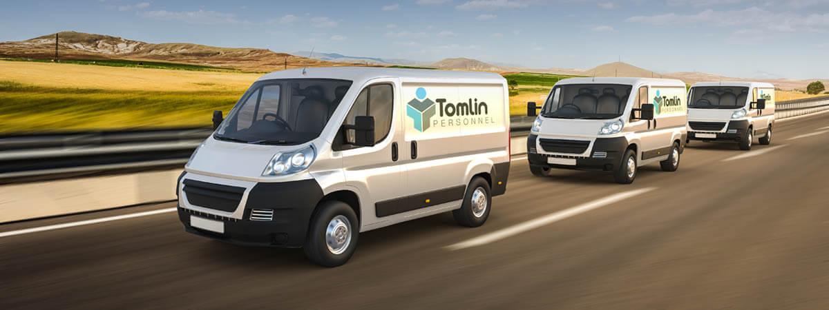 Tomlin Van Driving Jobs
